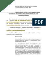 Artigo - Contratação Por Prazo Determinado - Alerta