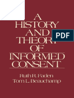 Faden y Beauchamp - A History and Theory of Informed Consent (1986)