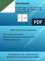 Sulfonacion-trabajo de Economia de Los Procesos Quimicos.docx