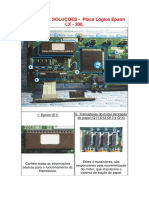 DEFEITOS E SOLUÇÕES - Placa Lógica Epson LX300.docx