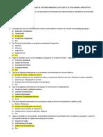 Examen Modulo 1 Diplomado de Gestion Ambiental Aplicada Al Sector Minero Energetico