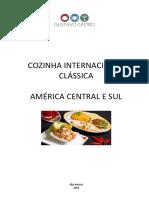 Cozinha Internacional - America Central e do Sul