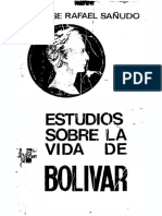 Bolívar impone castigos atroces a Pasto. Estudios sobre la vida de Bolívar - José Rafael Sañudo