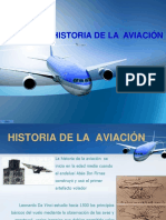 Historia de La Aviacion.