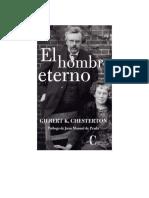 Chesterton G K - El Hombre Eterno