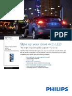 Philips LED 12836redb1 21 Watts 5 Watts 21w/5w Dois Polos
