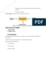 Lexical Analyzer (Compiler contruction)