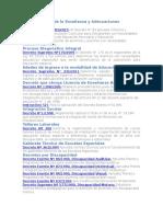 Diversificación de La Enseñanza y Adecuaciones Curriculares