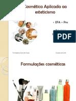 Cosmetologia_Emulsões