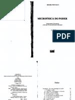 1.2 FOUCAULT, M. a Governamentabilidade. in ________. Microfísica Do Poder. RJ, Graal, 1979.