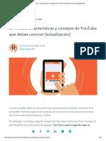 20 Trucos, Características y Consejos de YouTube Que Debes Conocer]