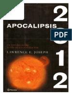 Lawrence Joseph - Apocalipsis 2012.pdf