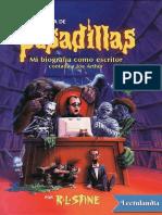Pesadilla 0 - Una vida de pesadillas - Biografía de R L Stine (Emuladioses).pdf