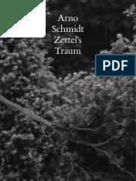 Arno Schmidt - Zettels Traum