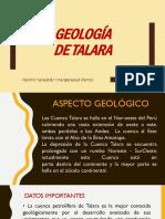 Geología de Talara - Sebasitán Changanaqué