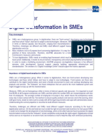 Policy Paper Digital transformation in SMEs
