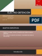 Electro Obtención