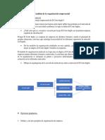 Análisis de La Organización Empresarial