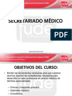 Clase 01 - Secretariado Medico