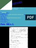 Resumen Pluto (Aristófanes)