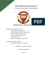 EXPORTCIONES PIB ECONOMETRIA.docx