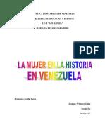 ENSAYO LA MUJER EN LA HISTORIA EN VENEZUELA.docx