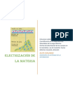Electrización de la materia