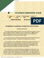 Marine Corps Rifle Marksmanship 2001