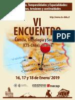 Programa VI Encuentro CTS Chile