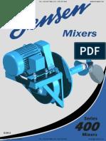 Jensen Mixer Series 400 Catalog