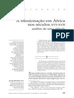 A missionação em África nos séculos XVI-XVII.pdf