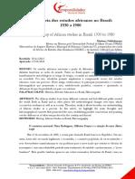 A trajetória dos estudos africanos no Brasil -1930 a 1980.pdf