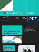 Inversiones Extranjeras