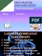 Pare Cryspi
