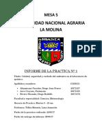Quimica General Informe 1QGI1