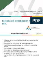 Metodo de Investigacion Abreviado de ICAM