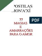 77 Amarrações e Magias Para o Amor