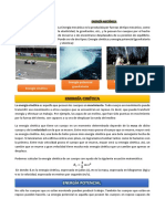 Ficha de Lectura - E. Cinética y Potencial