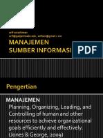 Manajemen Sumber Informasi - Sesi 1 (Informasi)