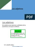 Presentacion Los Adjetivos (1)