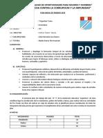 120369453 Plan Anual de Trabajo de La Promocion 2012