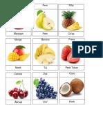 Frutas y Verduras Queqchi