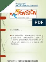 Extensión Universitaria en la Ulatina