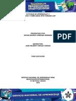 Actividad de Aprendizaje 11 Evidencia 7 Compliance With Foreign Law.