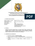 SILABO Matemáticas Discretas 2019