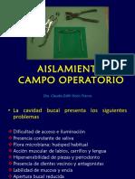 Aislamiento Campo Operatorio (2017)