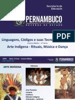 Arte Indígena Rituais Música e Dança.ppt