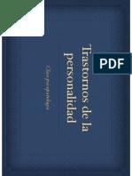 clase psicopatologia T. personalidad .pdf