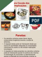 Utensílios Para Cocção de Alimentos