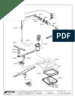 Smeg dishwasher parts list